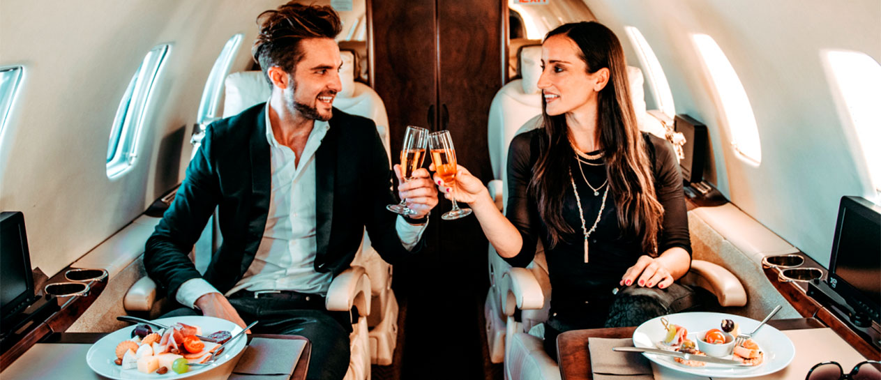 Romantic Escapes by Private Jet