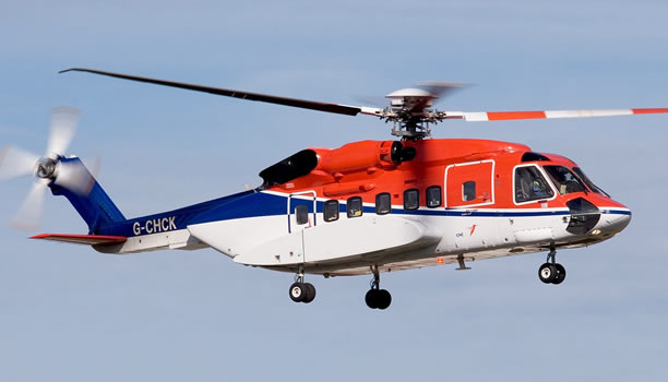 Sikorsky S-92 Flight