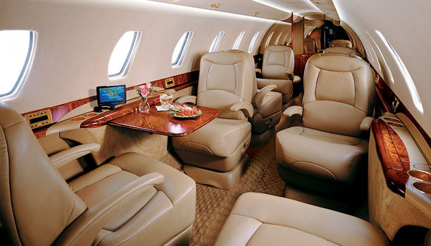Citation X Sovereign1 Flight Cessna Citation X Sovereign1 Interior