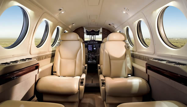 Beechcraft B200  Interior