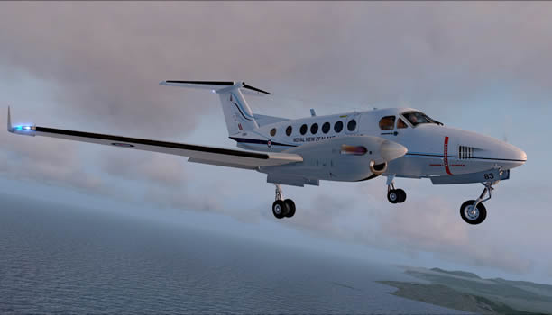 Beechcraft B200  Flight